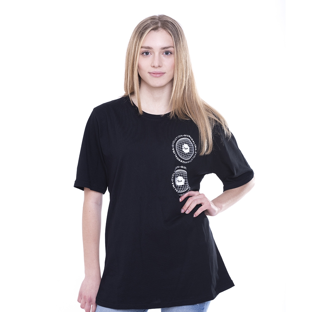 Black Tee Evolution Gothic