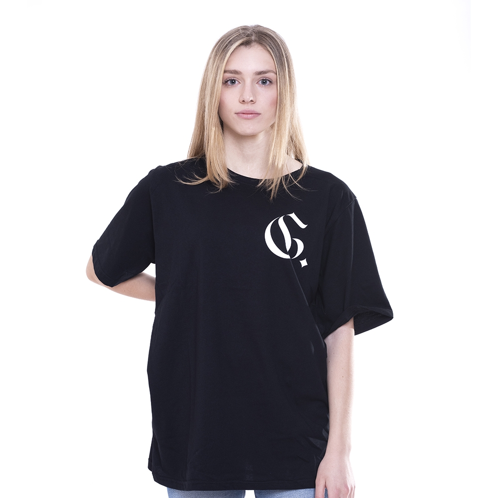 Black TEE Evolution Gothic Outline