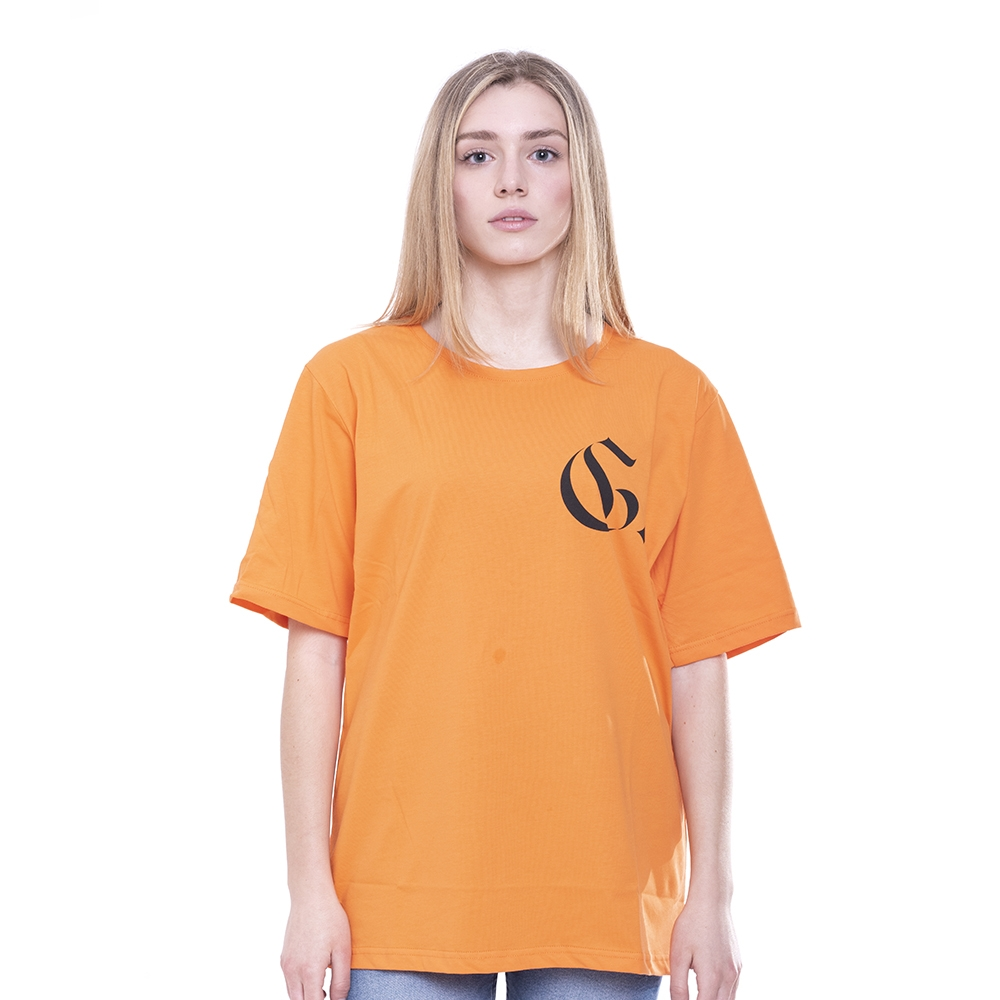 Orange TEE Evolution Gothic Outline